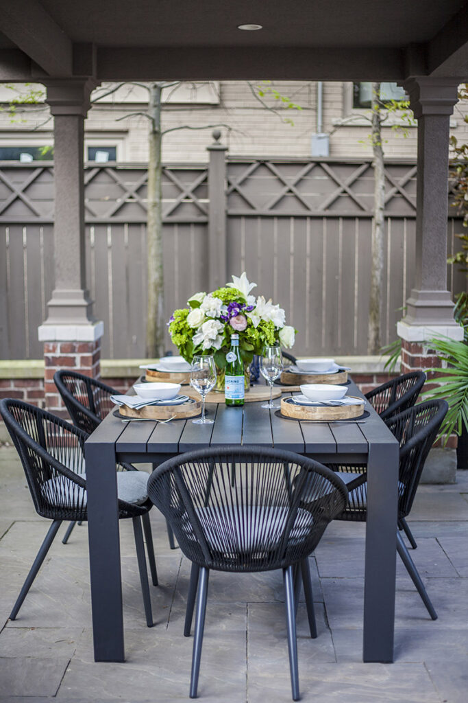 backyard richmond hill design
